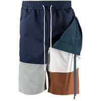 Maison Mihara Yasuhiro shorts a righe - multicolore