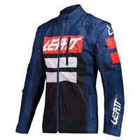 Leatt giacca enduro 4.5 x-flow blu