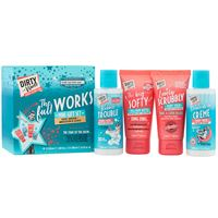 Dirty Works the full works - mini gift set cofanetto bagno