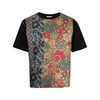 Pierre-Louis Mascia t-shirt aloe con stampa - nero