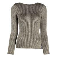 Charlott maglione a coste - oro