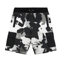 Dolce & Gabbana Kids shorts a stampa camouflage in cotone