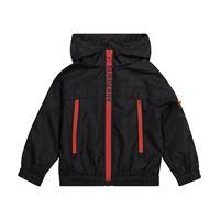 Burberry Kids giacca in tessuto tecnico con cappuccio
