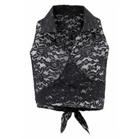 LASCANA top in pizzo