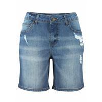 Buffalo LM bermuda di jeans con zone scucite