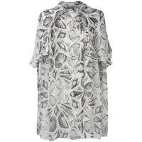 ALEXANDER MCQUEEN vestito donna 245012qmc029063 seta grigio