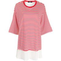 Undercover top a righe - rosso