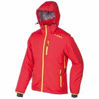 Leki Alpino loft jacket s neon red / neon yellow