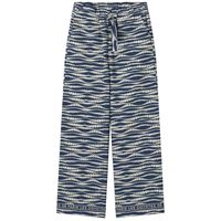 Les Coyotes De Paris bambini - bambina - tropea floral waves print pantaloni blu - 18 anni - blu