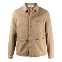 Maison Flaneur giacca leggera con tasche - toni neutri