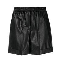 Nude shorts elasticizzati - nero