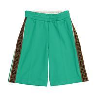 Fendi Kids shorts in misto cotone ff