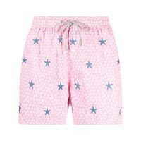 Mc2 Saint Barth shorts con stampa - rosa