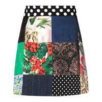 Dolce & Gabbana minigonna svasata - nero