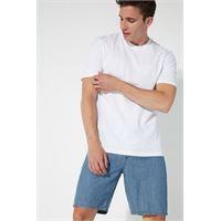 Tezenis t-shirt basic ampia in cotone uomo bianco