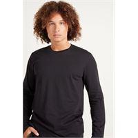 Tezenis maglia manica lunga cotone uomo nero