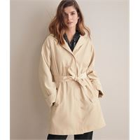 Falconeri trench waterproof champagne