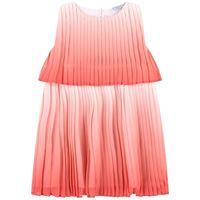 Mayoral - bambina - ombre vestito pieghettato rosa - 3 anni - rosa