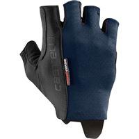 Castelli guanti rosso corsa espresso uomo blu