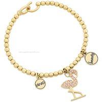 Liu jo jewels lj1489 gioiello donna bracciale acciaio pietre