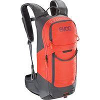 EVOC fr lite race - zaino protettivo, colore: grigio carbonio/arancione, s
