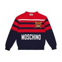 Moschino Kids pullover in cotone