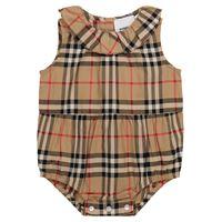 Burberry Kids baby - pagliaccetto a quadri in cotone
