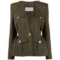 ALEXANDRE VAUTHIER giacca con scollo a v donna