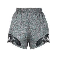 Paco Rabanne shorts a fiori donna