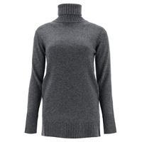 MAX MARA pullover nastro dolcevita xs grigio cachemire, lana
