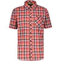 Meru camicia egio uomo rosso