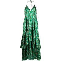 L'Autre Chose vestito a fiori - verde