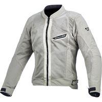 Macna giacca moto donna touring estiva Macna velocity grigio chiaro