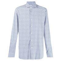Orian camicia con stampa - bianco