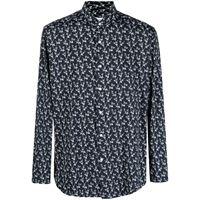 Orian camicia a fiori - nero