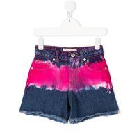 Alberta Ferretti Kids shorts in denim blu