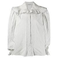 Philosophy Di Lorenzo Serafini camicia con colletto oversize - bianco