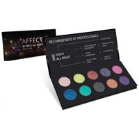 Affect Cosmetics palette ombretti - Affect Cosmetics party all night eyeshadow palette 25 g