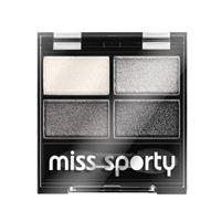 Miss Sporty ombretto 4 colori - Miss Sporty studio colour quattro eye shadow 414 - smokey