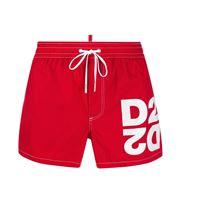 DSQUARED costume mirrored d2 swim shorts dsquared2