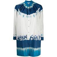 Alberta Ferretti camicia i love summer oversize - bianco