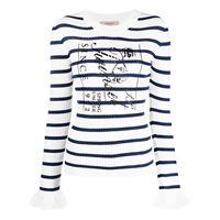 TWINSET maglione a righe - bianco