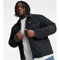 Lyle & Scott plus - giacca camicia-nero