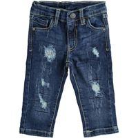 Bambino layette 18 mesi | 30 mesi pantalone jeans denim lungo art. D1830 navy | per bambino sarabanda autunno inverno |abbigliamento autunnale | invernale