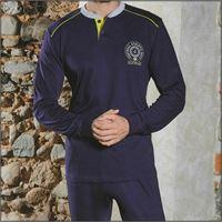 NAVIGARE pigiama da uomo calibrato 140979b jersey di cotone NAVIGARE