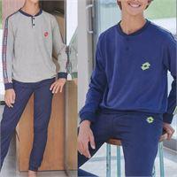 Lotto pigiama da ragazzo lungo di cotone 7018 lotto homewear