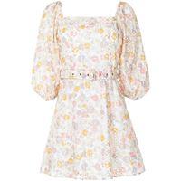 We Are Kindred abito corto a fiori jemima - toni neutri