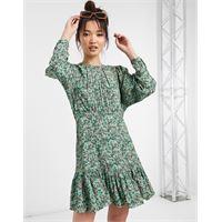 Whistles - vestito floreale erica verde
