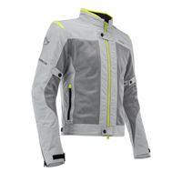 ACERBIS giacca ce ramsey vented grigio giallo fluo - ACERBIS