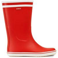 Aigle stivali in gomma malouine bt donna rosso